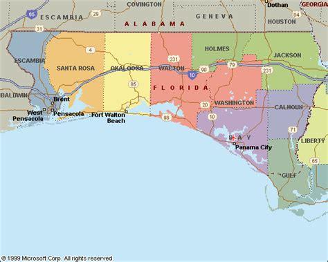 panhandle florida map opinions on florida panhandle