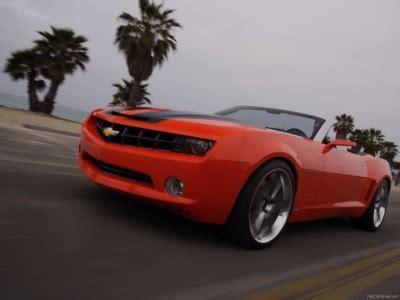 chevrolet camaro convertible concept  poster