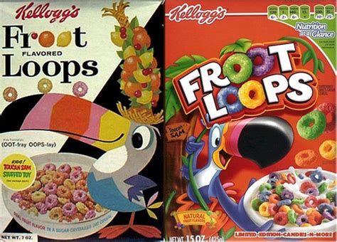 evolution  american cereal box design flavorwire