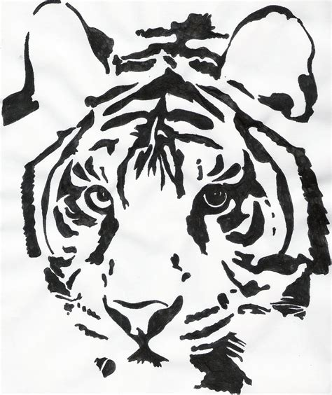 tiger head tattoo template joy studio design gallery