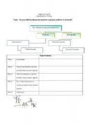 Argumentative Essay Outline Worksheet by Worksheet Argumentative Essay Scaffold