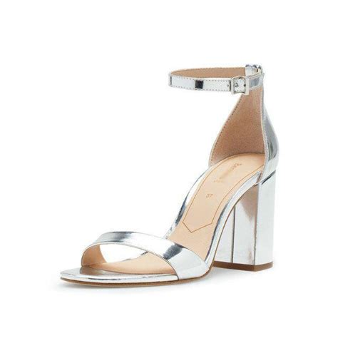 Fashion Sandal Import 1 silver thick heel shoes fs heel