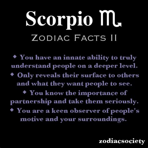 zodiacsociety scorpio zodiac facts