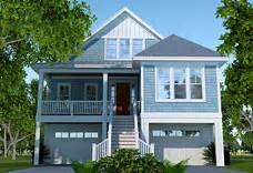 elevated raised piling and stilt house plans coastal
