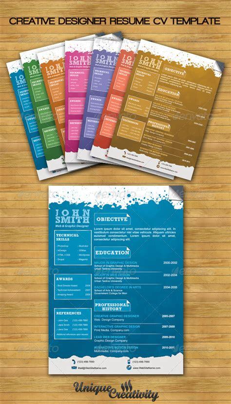 game design exles design cv templates