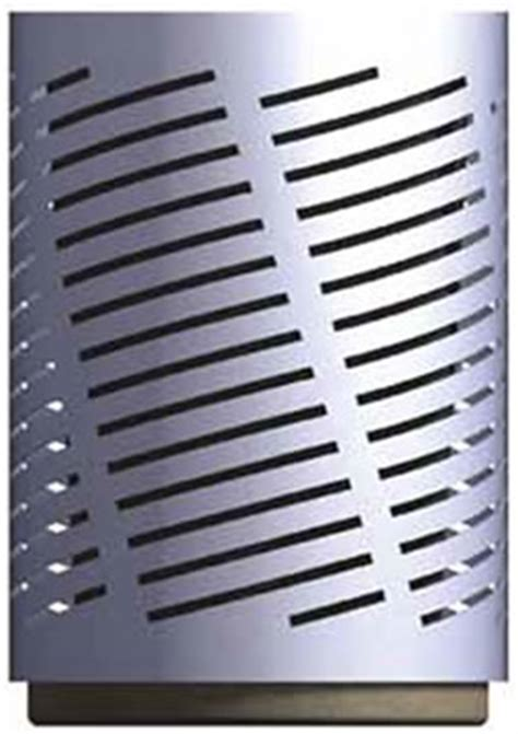 drum pattern metal drum steel waste container with patterned wall metal