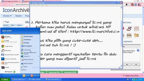 Tutorial Windows 10 Indonesia Pdf | tutorial xp indonesia tutorial cara mengganti dan