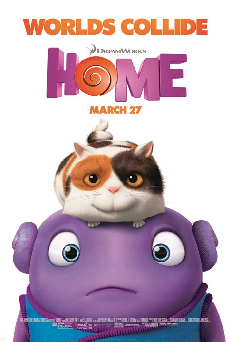 dreamworks home poster images