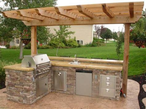 backyard kitchen ideas small outdoor kitchen backyard in 2018