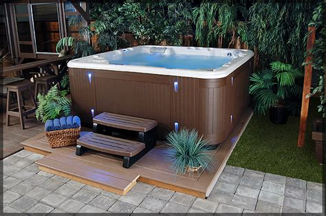 Backyard Hottub by Triyae Backyard Tub Privacy Ideas Various