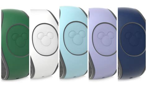 disney bands colors disney releases five new magicband colors on shopdisney