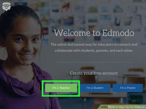 edmodo kid sign up 3 ways to sign up for edmodo wikihow