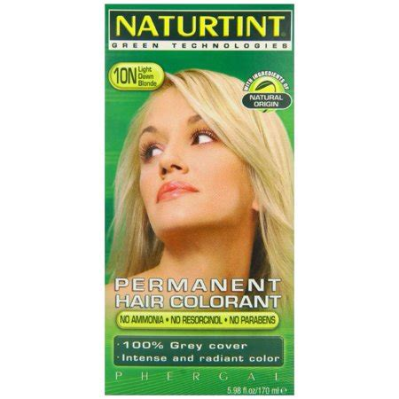 naturtint colors naturtint permanent hair color 10n light