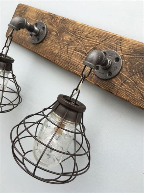 jar bathroom light fixture best 25 rustic light fixtures ideas on