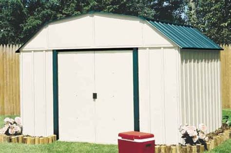 Vinyl Outdoor Sheds by Arrow Vinyl 10 X 8 Premium Outdoor Storage Shed