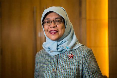 biography of halimah yacob halimah yacob husband daughter family house salary