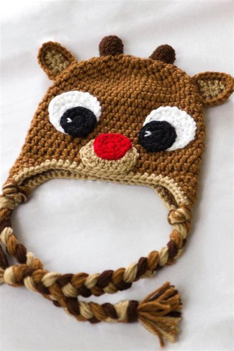 Free Crochet Pattern Baby Christmas Hats