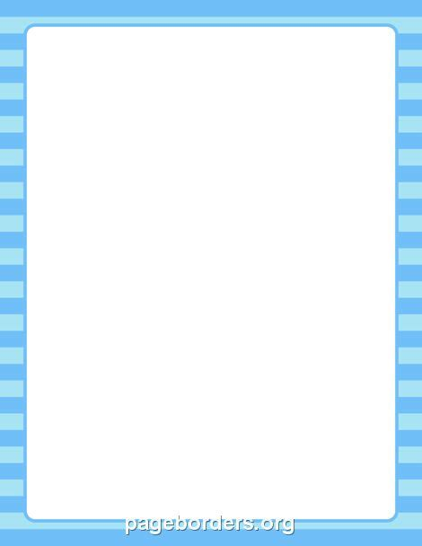 printable blue striped border use the border in printable blue striped border use the border in microsoft word or other programs for creating
