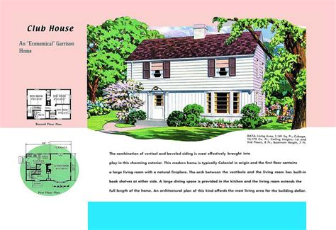 House Designs Floor Plans Usa by Neocolonial Floor Plans