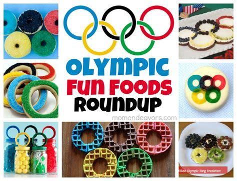 fruit olympics olympic rings food roundup recipes foods