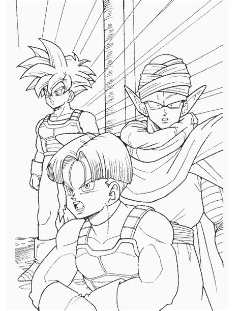 Coloriage Dragon Ball Z 2 Coloriage Imprimer Memes Coloriage Dragon Ball Z Super Guerrier A Imprimer Gratuit Dessin Dbz A Colorier Page L