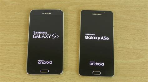 I Samsung A5 by Samsung Galaxy S5 Android 6 0 1 Vs Galaxy A5 2016 Which