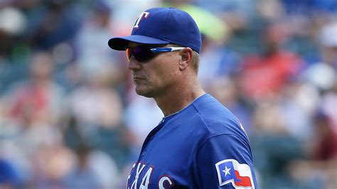 Jeff Banister by Rangers Jeff Banister Meets With Pete Carroll Mlb