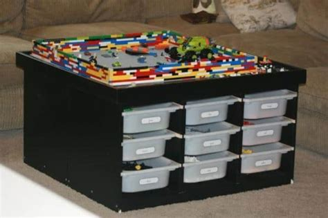 lego tables  storage  love spaceships  laser
