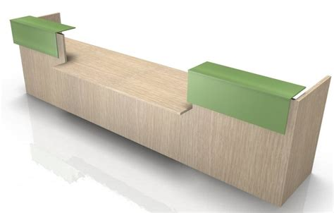 Reception Desk Double Central Dda Section Factory Reception Desk Section
