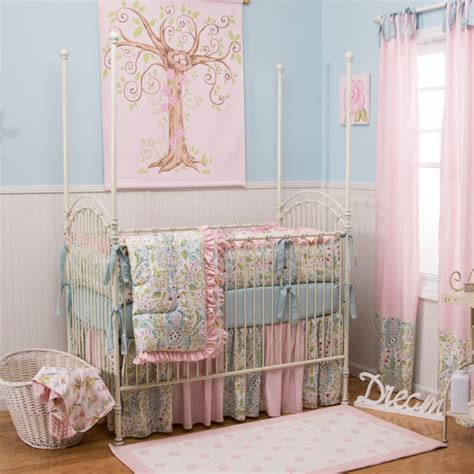 Bird Crib Bedding Birds Crib Bedding Traditional Baby Bedding Atlanta By Carousel Designs