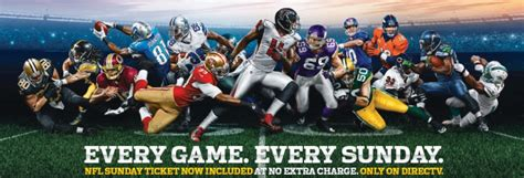 Direct Tv Nfl Sunday Ticket by Nfl Sunday Ticket Free For Your Hotel