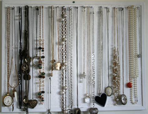 diy necklace organizer overthetaupe