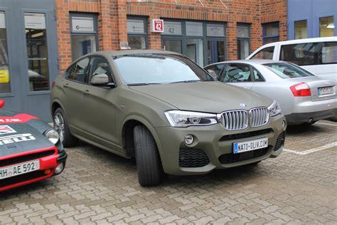 Autofolie Nato Oliv Matt by Bmw X4 Folierung Nato Oliv Matt Nato Oliv