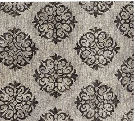Pottery Barn Scroll Rug Empire Scroll Rug Gray Pottery Barn