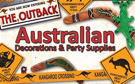 australian decoration australian theme decorations supplies partycheap