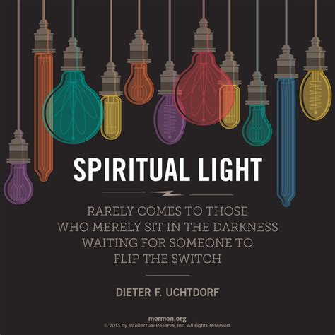spiritual light and darkness quot spiritual light rarely comes to those who merely sit in