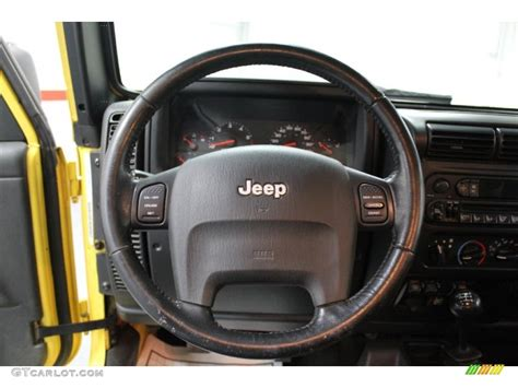 2004 Jeep Wrangler Rubicon 4x4 Steering Wheel Photos