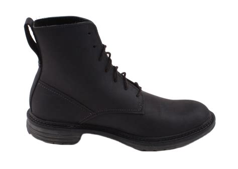 timberland earthkeepers tremont mens black leather work