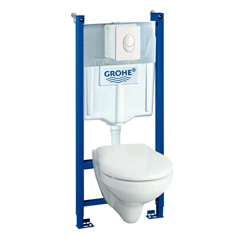 Wc Suspendu Grohe Solido 2783 by Pack Wc Suspendu B 226 Ti Mur Solido Compact Leroy Merlin