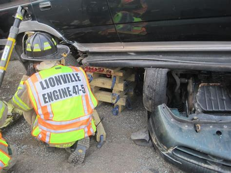 Extrication Cribbing by Vehicle Rescue Lionville Company