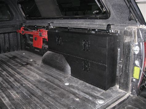 better built wheel well tool box with drawers wheel well tool box pork chop boxes swing case open