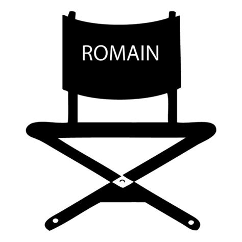 Chaise De Cinema stickers chaise de cin 233 ma personnalis 233 183 184 184