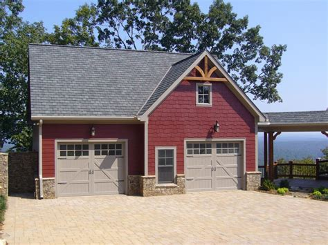 craftsman style garages 2 bay boat storage with apt garage plans alp 096d