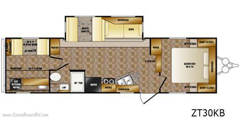 zinger travel trailers floor plans crossroads zinger rv bunkhouse cer 30kb all about