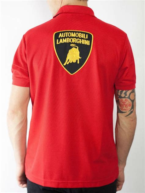 Lamborghini Wear Shop Lamborghini Polo Shirt Smart Mens Wear Clothing Depot