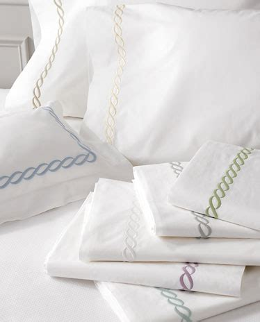 bed linens houston matouk s classic chain bed linens available at kuhl