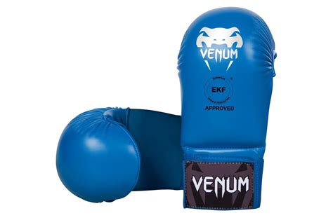 Venum Karate Glove Wkf Approved Blue venum karate mitts without thumb protection dragonsports eu