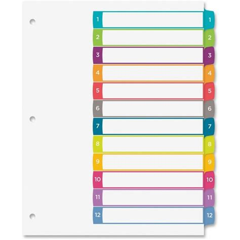 avery index tabs template free 12 avery ready index template you may not