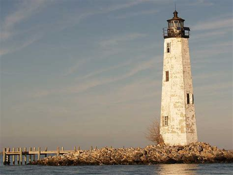 Point Comfort Lighthouse by Home Find Your Chesapeake National Park Service And
