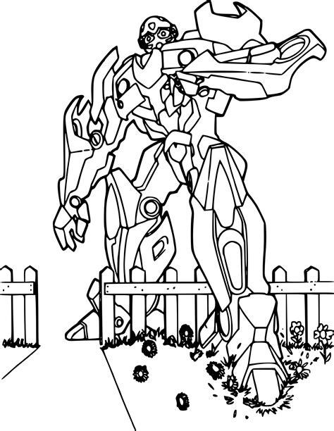 Transformers Coloriage Bumblebeel